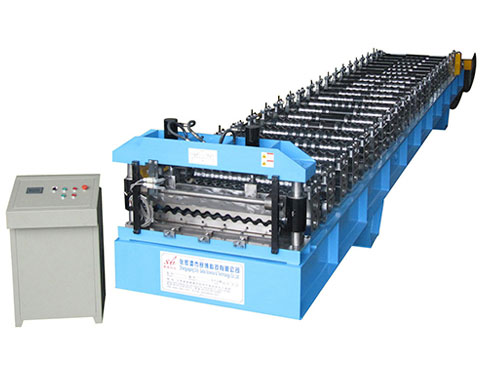 Corrugated IBR Roof Sheet Manufacturing Machines
